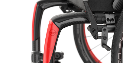 Integrated impact guard with top grip