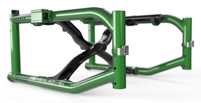 Rigid unibody frame