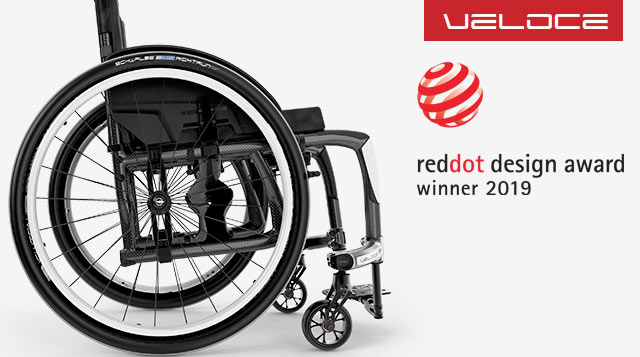 Veloce and Red Dot 2019 Logo