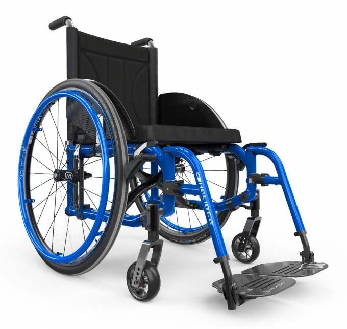 Carbon folding wheelchair